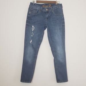 Seven 7 jeans womans skinny ripped size 10